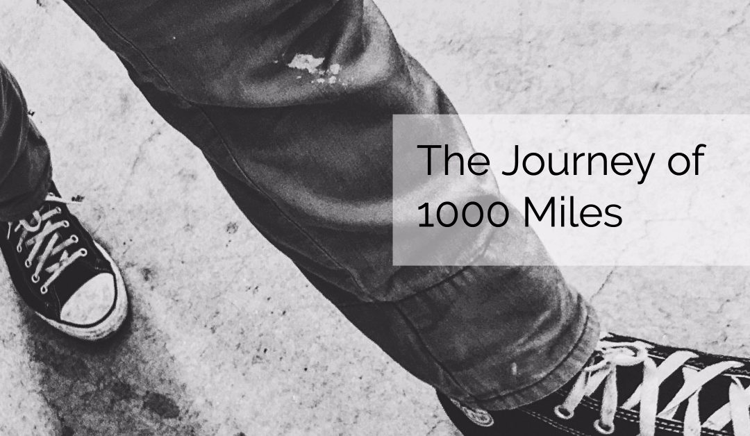 The Journey of 1000 Miles