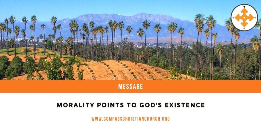 Morality Points to God's Existence